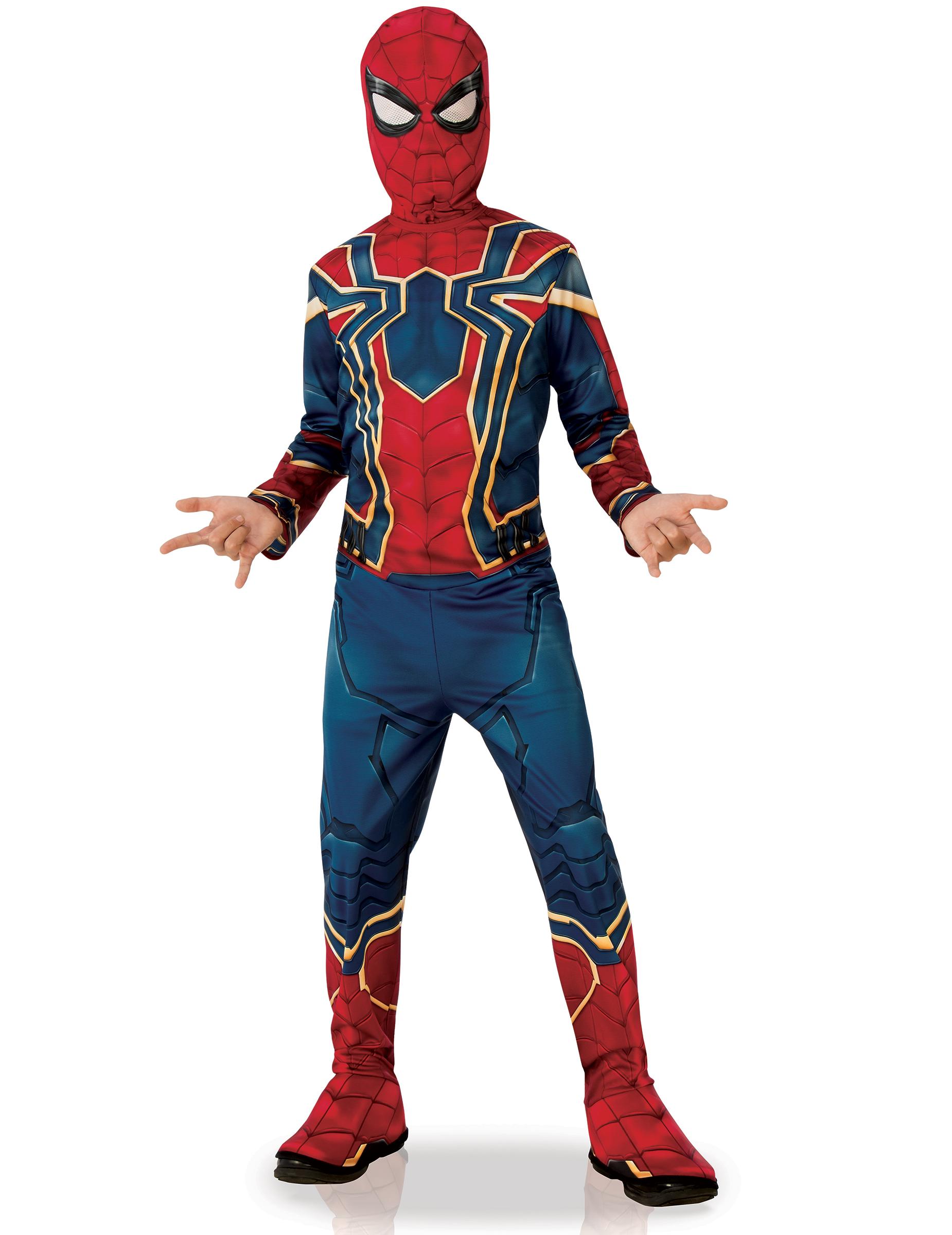 #Iron Spider-Lizenzkostüm Infinity War™ für Kinder blau-rot-gold#