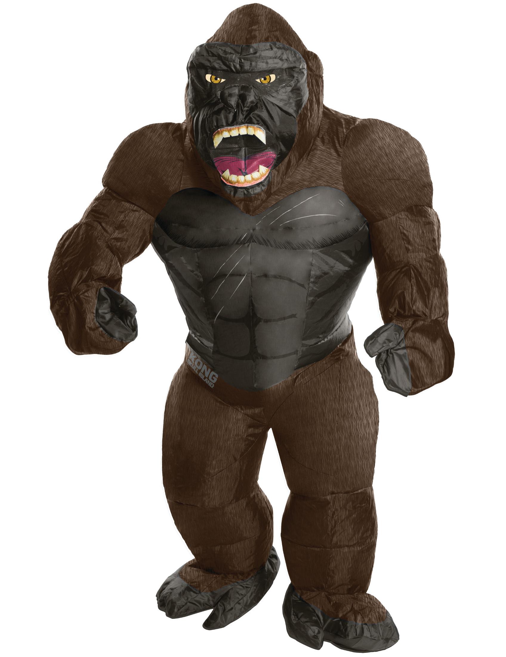 Aufgeblasenes King Kong Kostüm für Erwachsene 281680