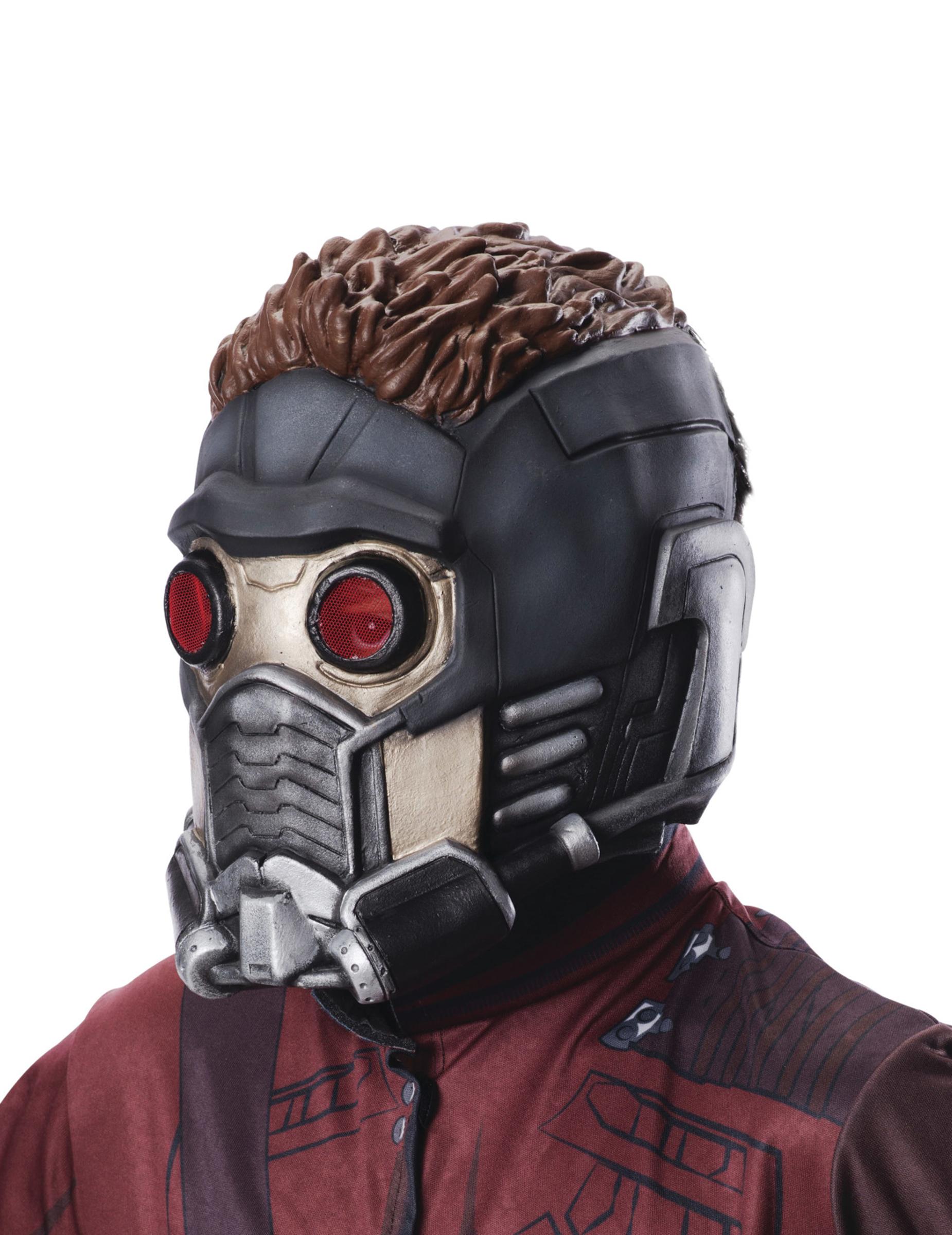 #Guardians of the Galaxy™ Star Lord™-Maske für Erwachsene schwarz#