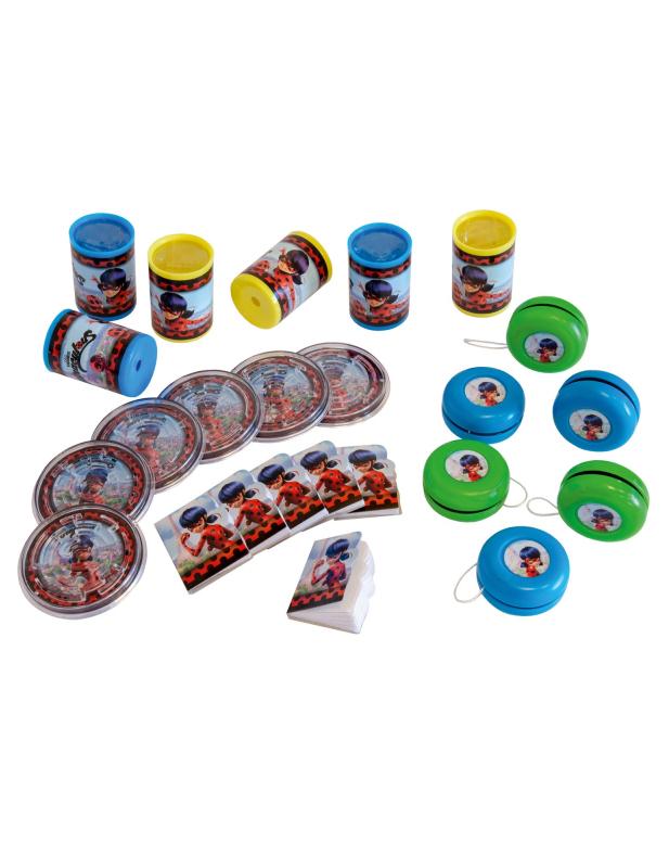 #Ladybug™-Superhelden Geschenk-Set 24-teilig bunt#