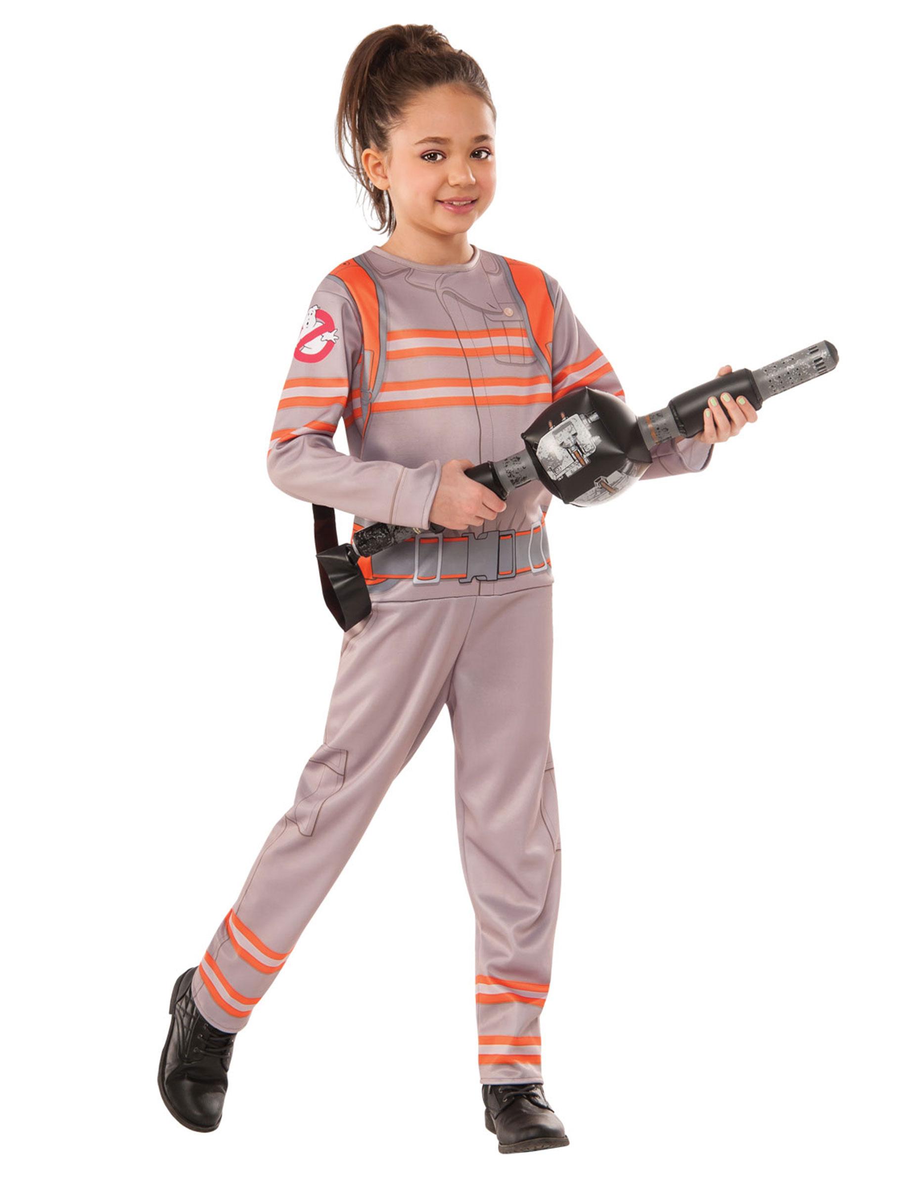 ghostbusters kinderkost m mit spielzeugwaffe grau orange kost me f r kinder und g nstige. Black Bedroom Furniture Sets. Home Design Ideas