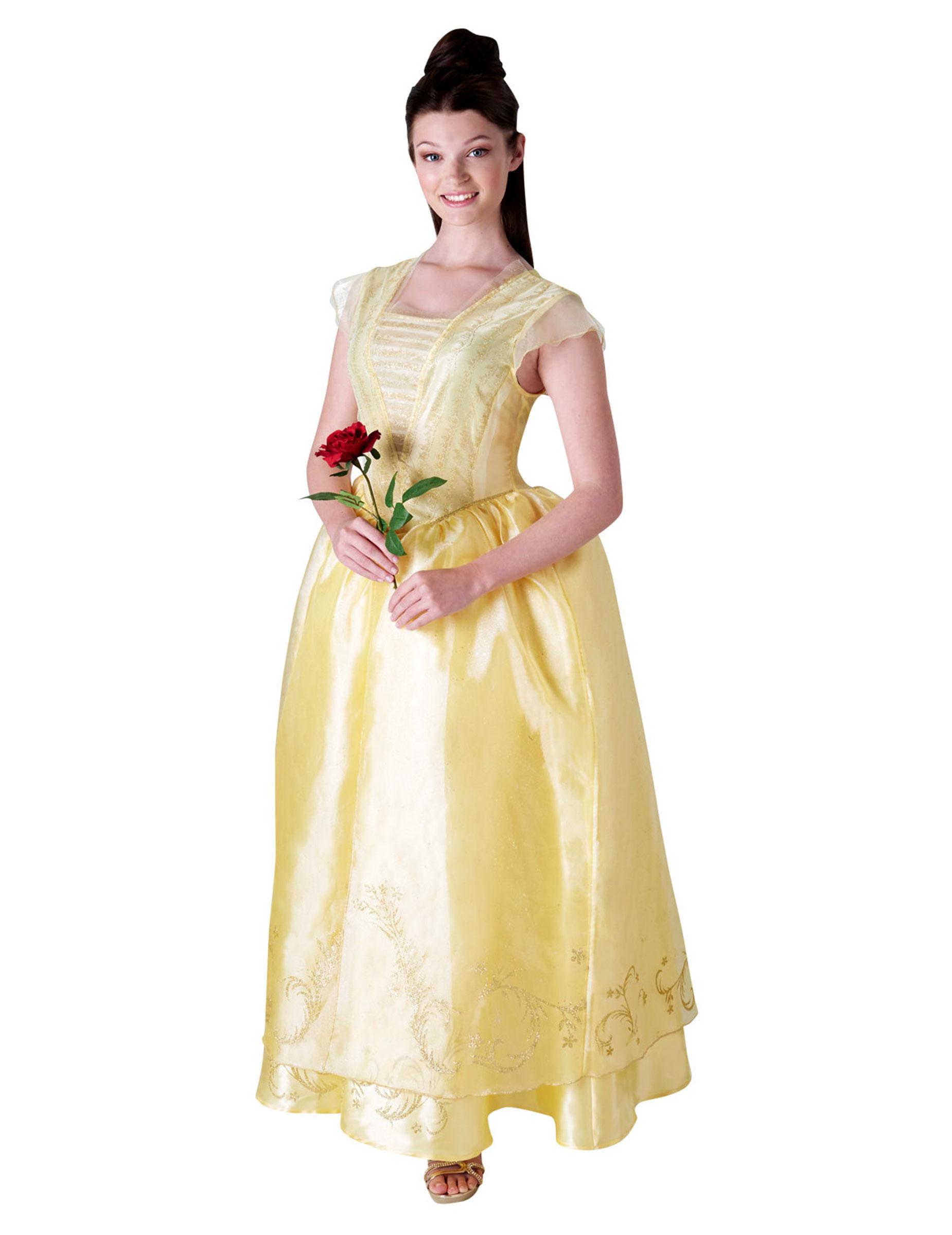 60% Freigabe Rabatt-Sammlung stabile Qualität Belle™-Kostüm für Damen Disney™-Lizenz-Verkleidung gelb