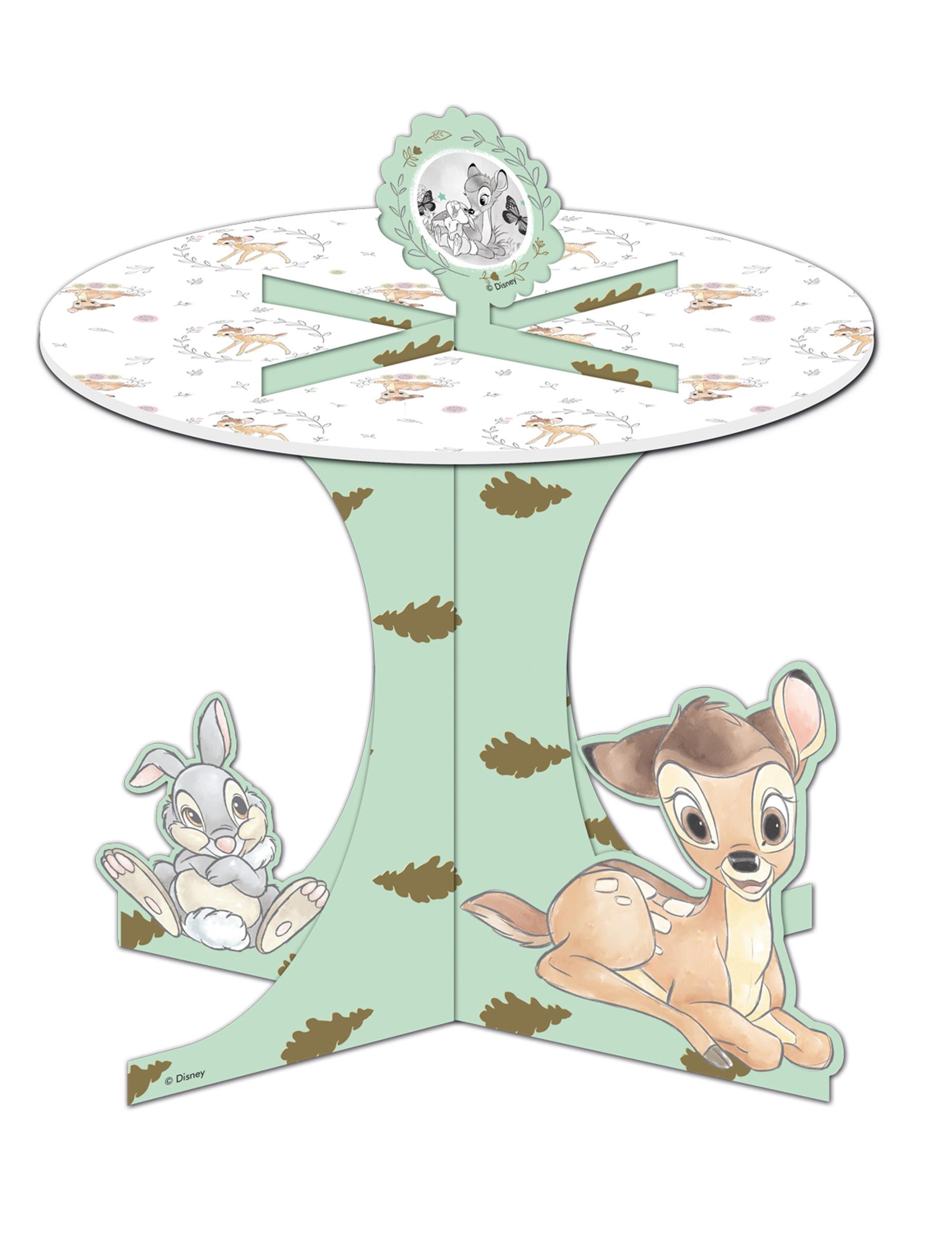 Disney Bambi Cupcake Aufsteller Kindergeburtstag bunt 27x30cm 284780