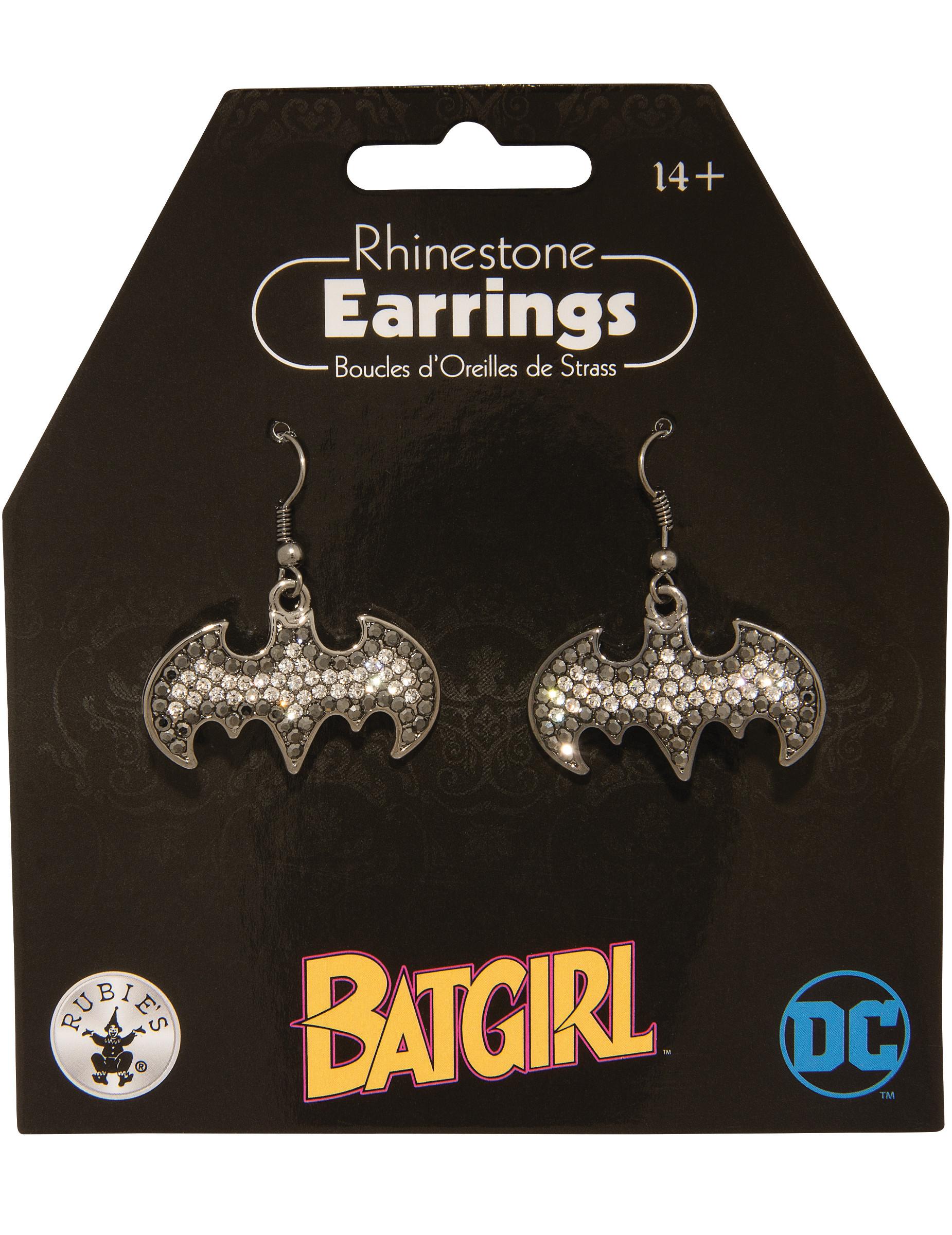 Batgirl-Ohrringe für Damen Schmuck silber 285762