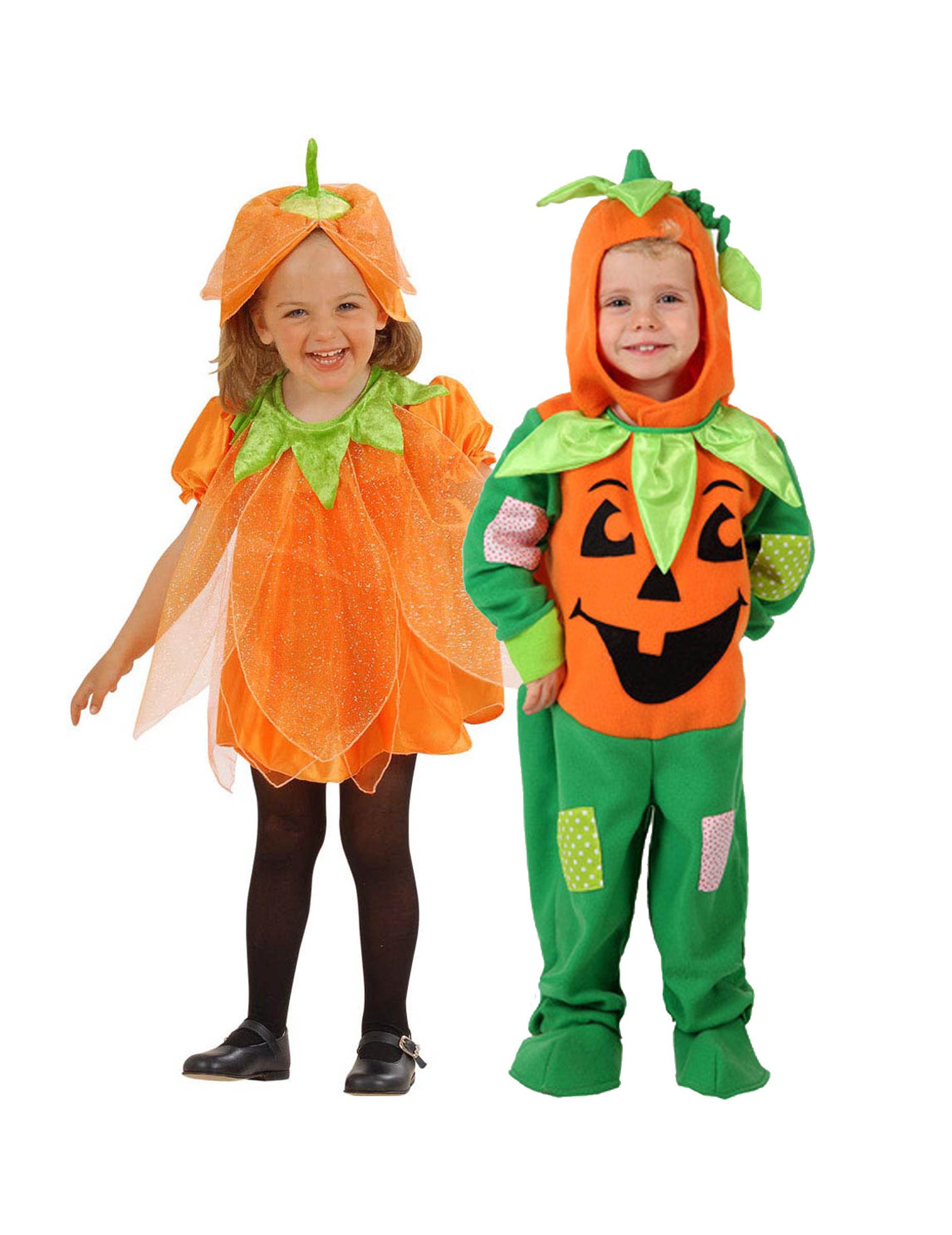 paarkost m k rbis f r kleinkinder halloween orange gr n. Black Bedroom Furniture Sets. Home Design Ideas