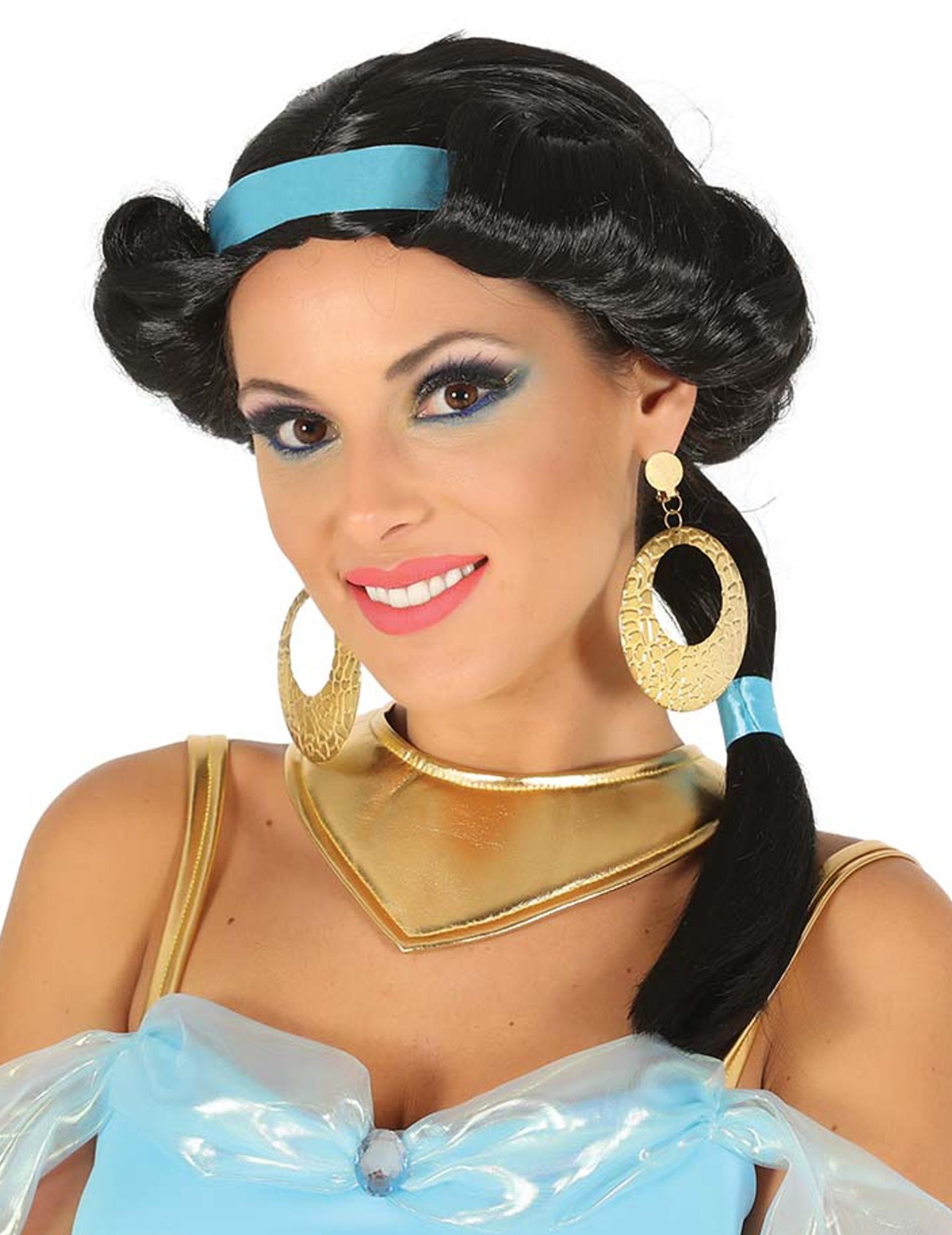 Orientalische Prinzessinnen-Perücke für Damen 288346