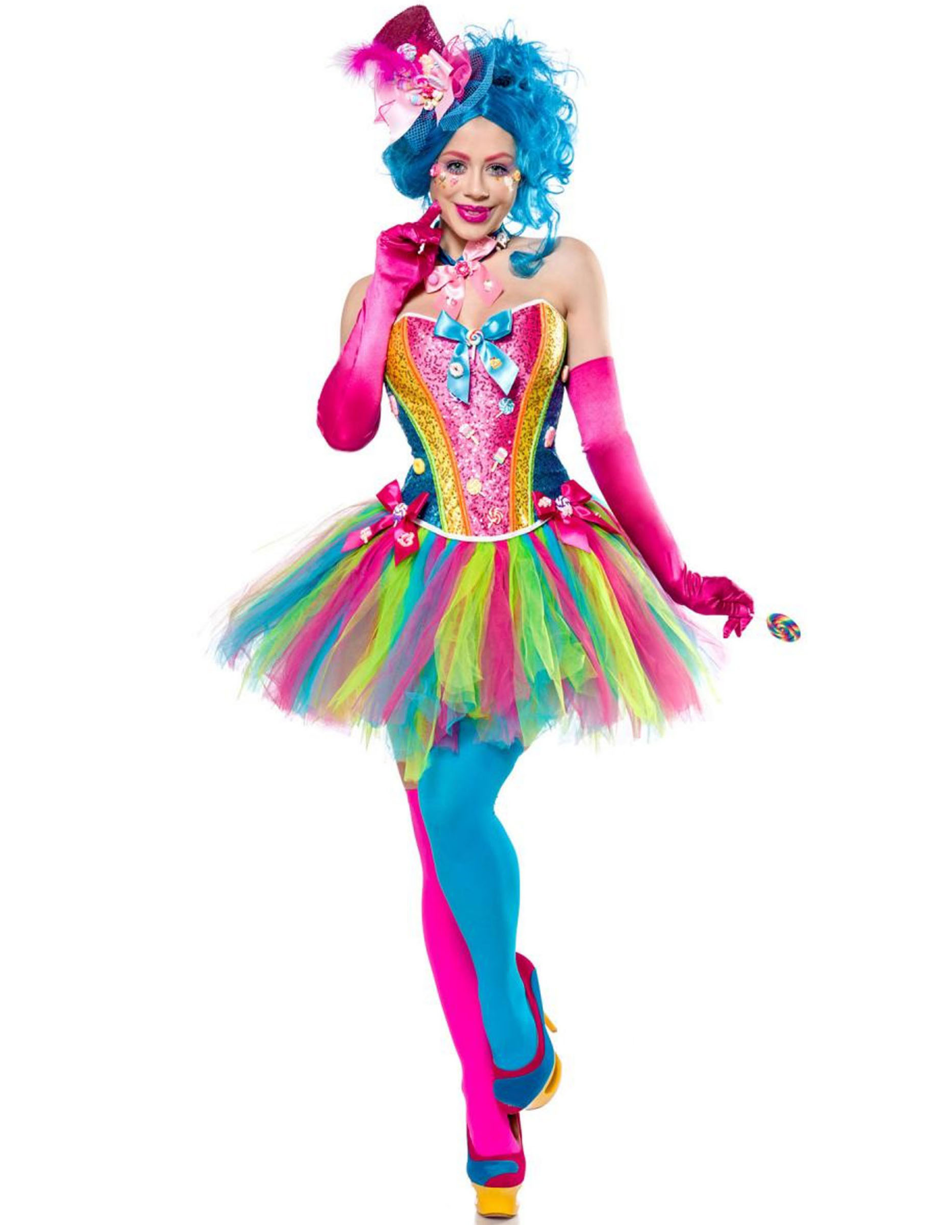 clown kostüm damen
