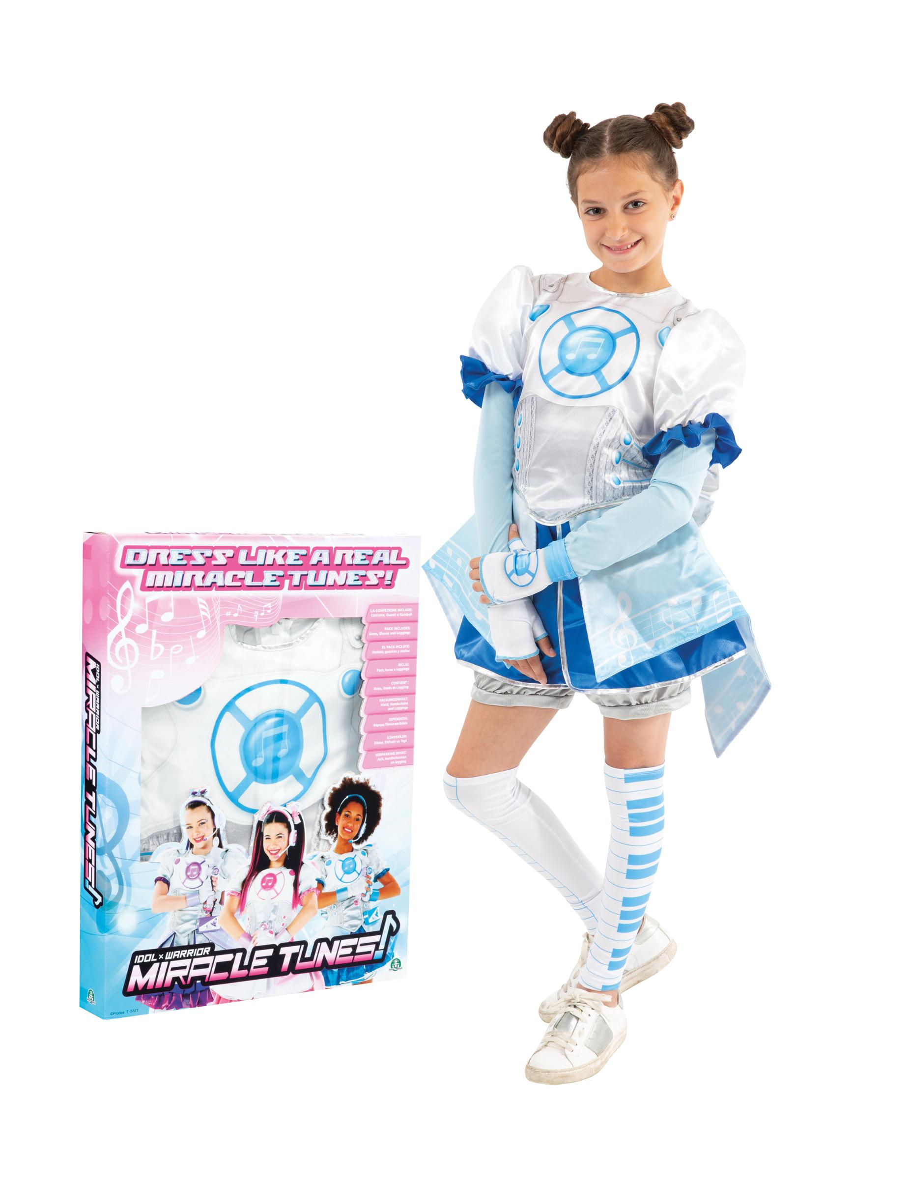 #Miracle Tunes Jasmine ( weiss-blau ) Kinderkostüm#