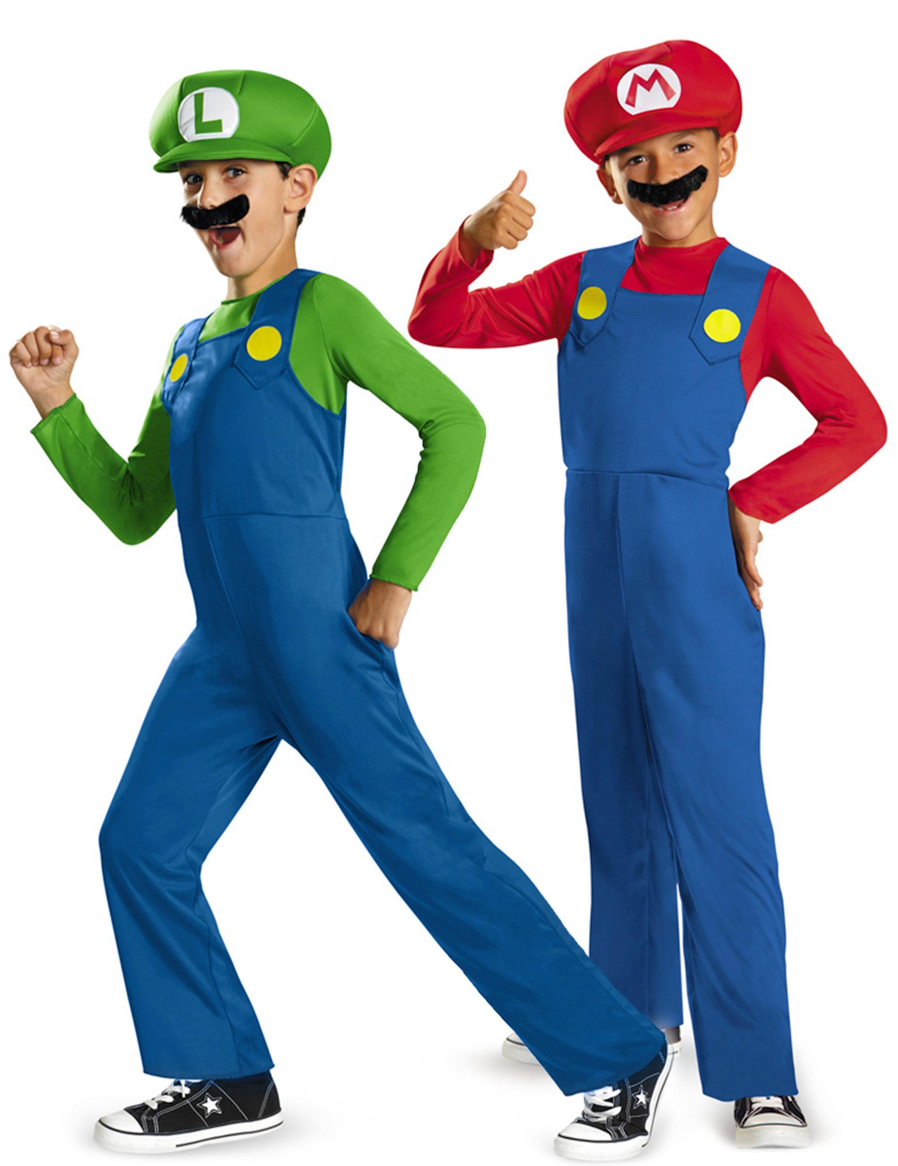 cf6e590d045897 Super Mario™ und Luigi™ Paarkostüm für Kinder: Paarkostüme,und ...