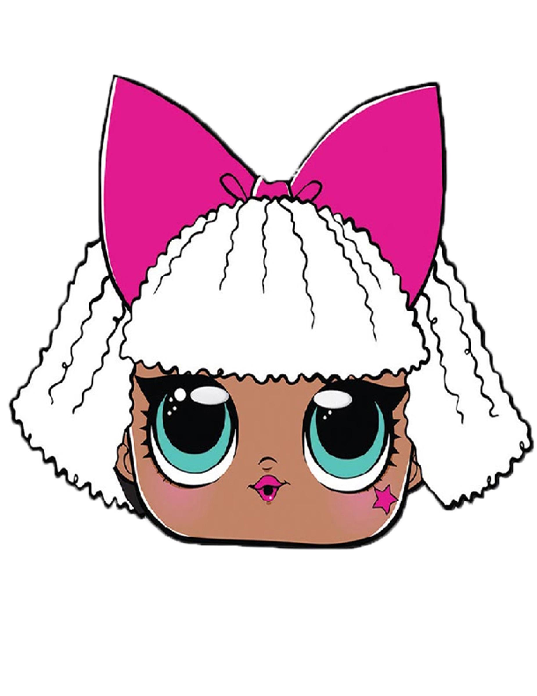 Lol Surprise Maske Diva Für Kinder Bunt