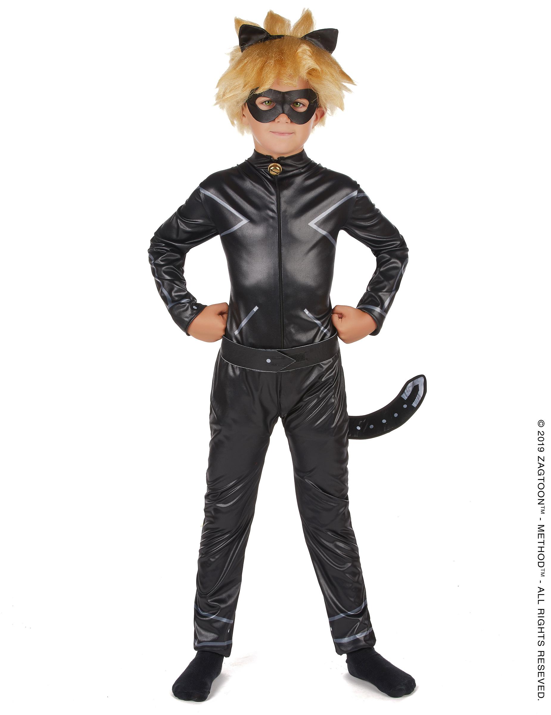 Vegaoo Cat Noir Kinderkostüm für Jungen Miraculous