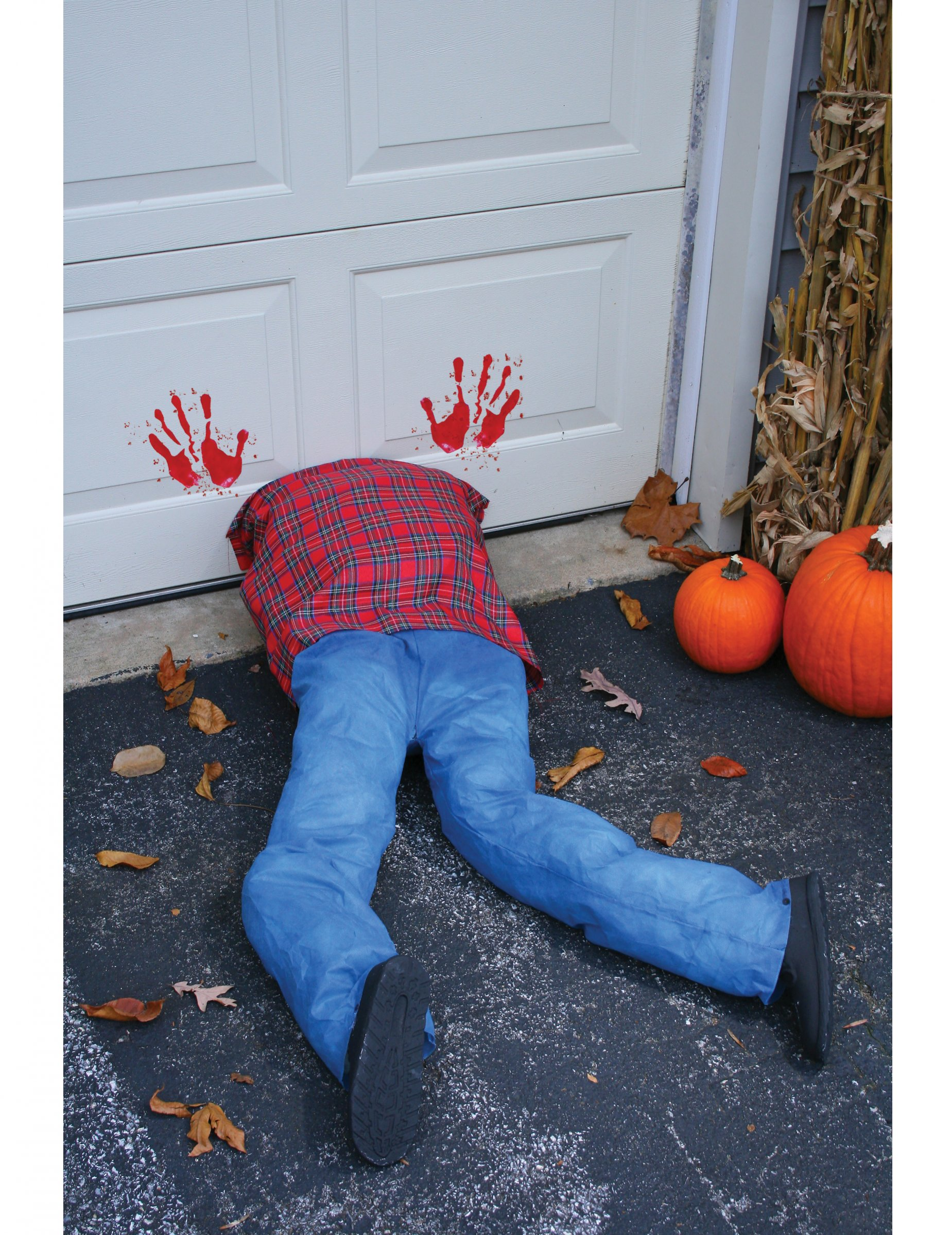 Gekopfte Leiche Horror Deko Fur Halloween Blau Rot Partydeko Und Gunstige Faschingskostume Vegaoo