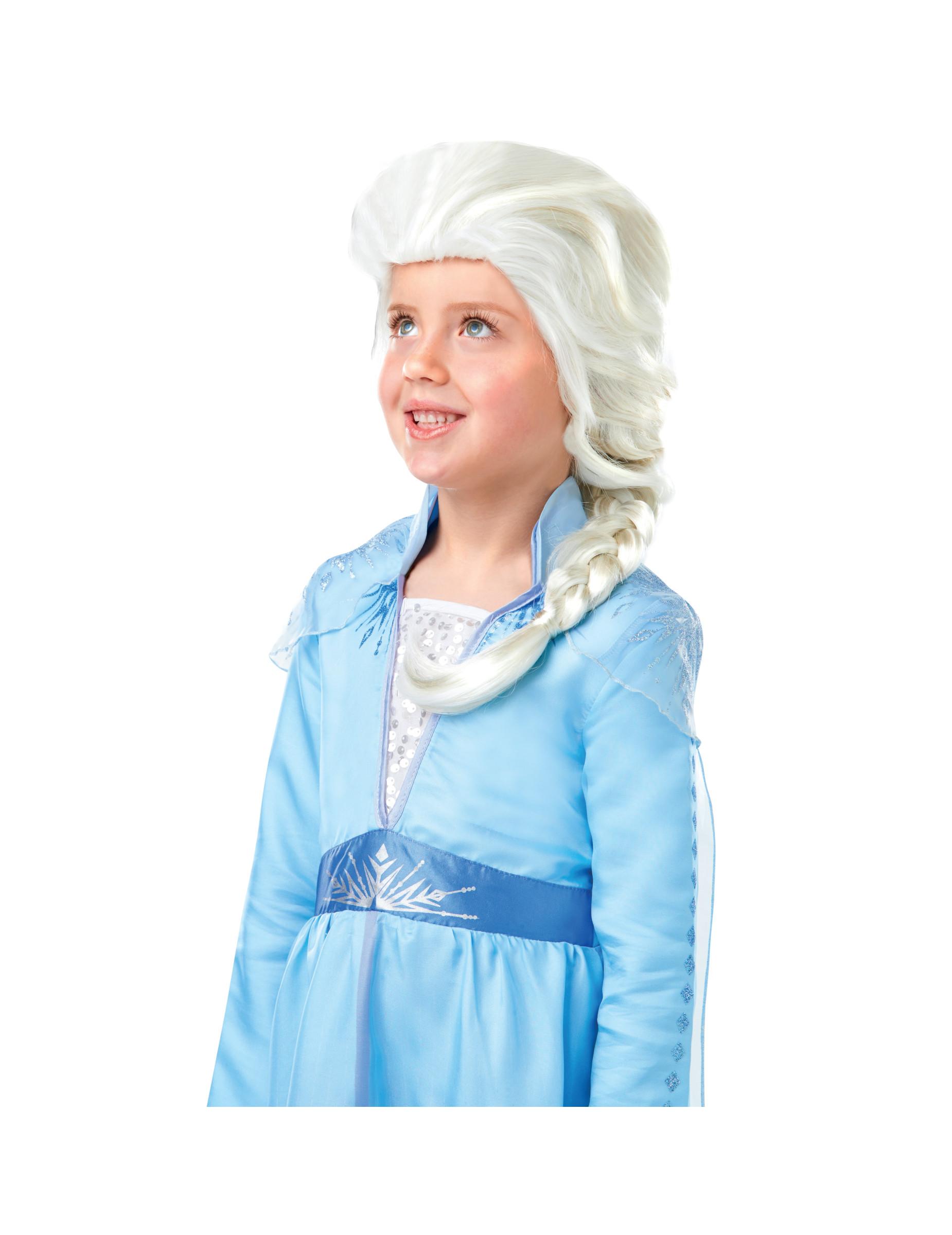 Frozen2 Elsa-Perücke Zubehör für Fasching Accessoire blond 299667
