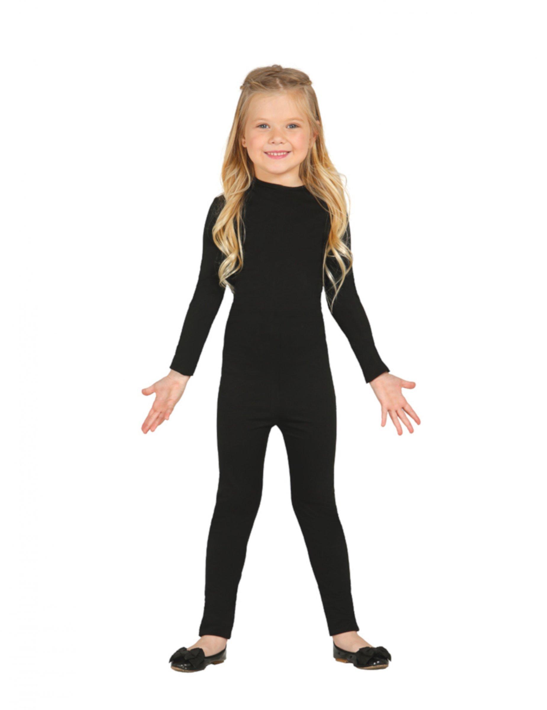 #Kostüm-Body für Kinder Overall für Fasching und Halloween schwarz#