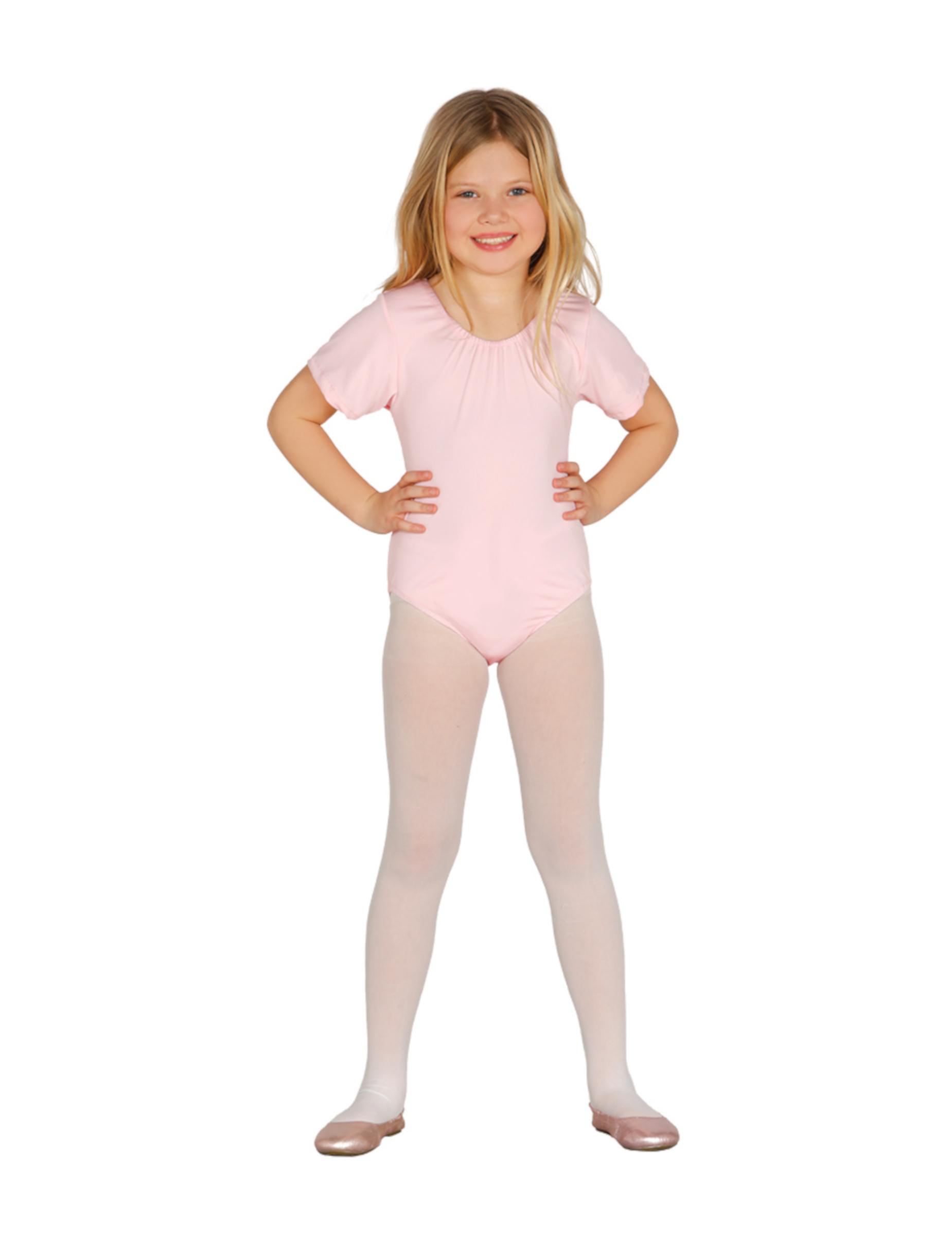 #Body-Anzug für Kinder Ballerina-Kostüm-Accessoire rosa#