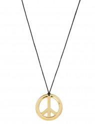 Hippie-Halskette Metall für Erwachsene