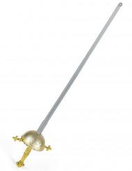 Rächer-Schwert mit rundem Griff