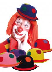 Clownshut mit Tupfen für Erwachsene