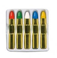 Schminkstifte Set 5 Stück bunt 14g