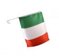 Italienische Auto-Fanflagge