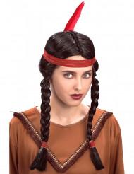 Indianerperücke für Damen