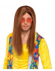 Hippie-Perücke für Erwachsene