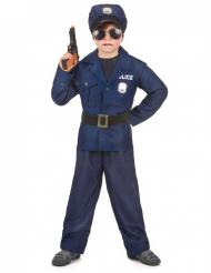Polizistenkostüm Deluxe für Jungen
