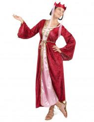 Mittelalter - Königin - Kostüm für Damen