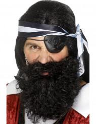 Piratenbart für Erwachsene