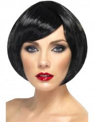 Perücke für Damen Glamour schwarz kurze Haare