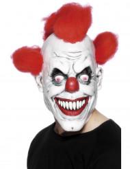 Furchterregende Clowns-Maske für Erwachsene, Halloween
