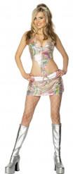 Sexy Hippie-Kostüm für Damen