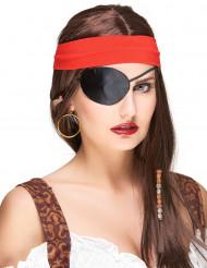 Augenklappe für Piraten, für Erwachsene