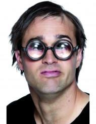 Schlauberger-Brille für Erwachsene schwarz