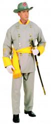 Südstaatler General-Kostüm für Herren