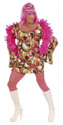 Drag Queen Kostüm 70er Jahre Disco für Herren