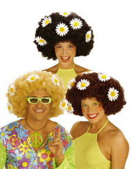 Blumen-Perücke für Damen