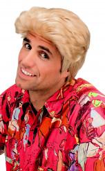 Blonde Luciano Perücke für Herren