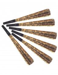 Sechs goldene Trompeten