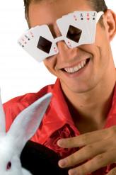 Pokerbrille für Erwachsene