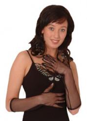 Netzhandschuhe für Erwachsene 40 cm