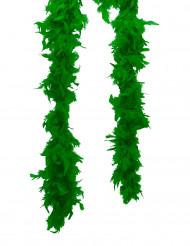 20er-Jahre Federboa Karneval-Accessoire grün