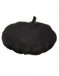 Baskenmütze traditionell schwarz