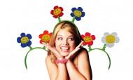 Lustiger Blumenhaarreif für Erwachsene