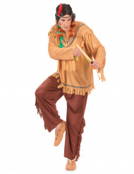Indianer-Männerkostüm bunt