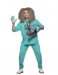 Verrückter-Arzt-Kostüm Halloween für Herren