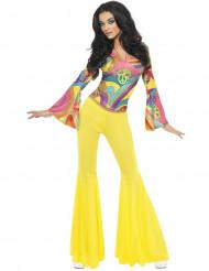 Hippie-Kostüm 70er Jahre für Damen