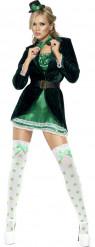 Sexy Irländerin-Kostüm für Damen