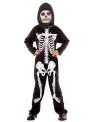 Skelett-Kostüm Halloween für Jungen