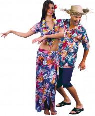 Urlauberkostüm Hawaii für Paare